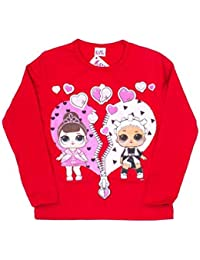 LOL Surprise 26011 t-Shirt Bambina Manica Lunga Natale Made in Italy 8e0accc78a0c