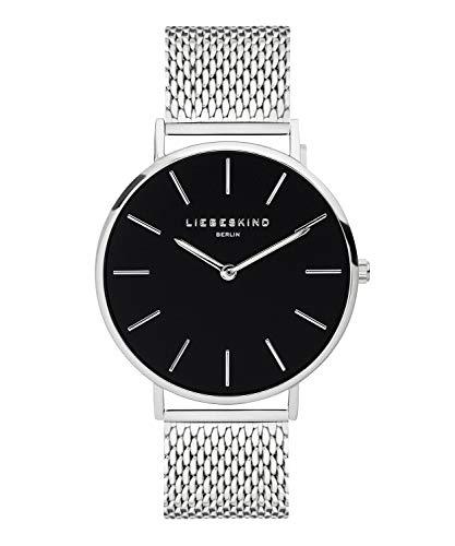 LIEBESKIND BERLIN Unisex Erwachsene Analog Quarz Uhr mit Edelstahl Armband LT-0154-MQ