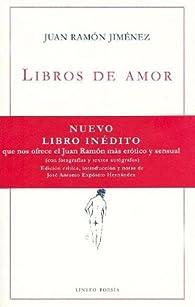 Libros de amor ) par Juan Ramón Jiménez