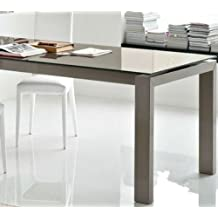 Tavoli Allungabili Calligaris Cristallo.Amazon It Tavolo Calligaris Vetro Allungabile