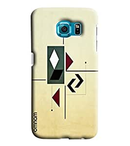 Omnam Arrow Pattern Printed Designer Back Cover Case For Sumsang Galaxy S4