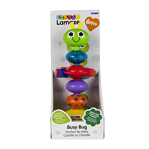Lamaze-Babyspielzeug-Lustiger-Kfer-mehrfarbig-hochwertiges-Hochstuhlspielzeug-vereint-Rassel-und-Greifling-frdert-die-Motorik-Ihres-Kindes-ab-6-Monate