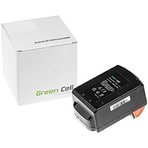 Green Cell® Utensili Elettrici Batteria per Milwaukee C18 PD-32C (Li-Ion pile 3000 mAh 18V)