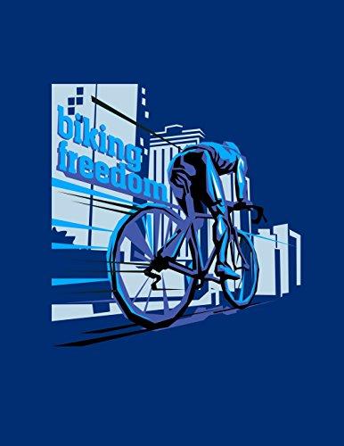 Biking Freedom: Notebook (Composition Book Journal) (8.5 x 11 Large) por Lance Derrick