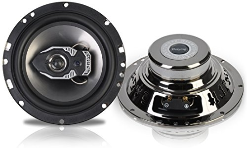 Peiying PY-IN1601M hohe qualität Autolautsprecher , 120W, 2 Stück Set, 2-Weg Auto KFZ Lautsprecher, Auto-Aufbaulautsprecher, 16cm schwarz