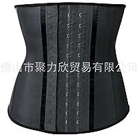 HL-- cuerpo correa palacio natural de escultura corporal Ajustable correa de plástico - beam,negro,M