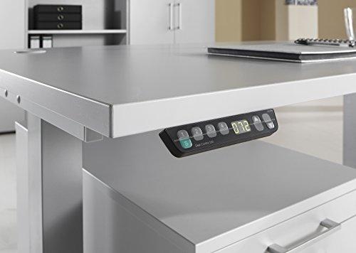 b m ergonomischer schreibtisch elektrisch h henverstellbar elektrischer b rotisch. Black Bedroom Furniture Sets. Home Design Ideas