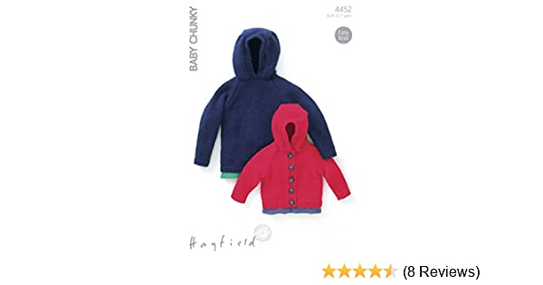 a372552a3 Sirdar (Hayfield) Baby Chunky Children s Jacket   Sweater Knitting ...