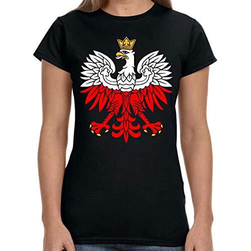 Mann Kostüm Polnischer - TYML Heißer Mode Weiß-Rot Patriotischen T-Shirt Polen Adler Polnischen Patriotischen T Shirt T Shirt