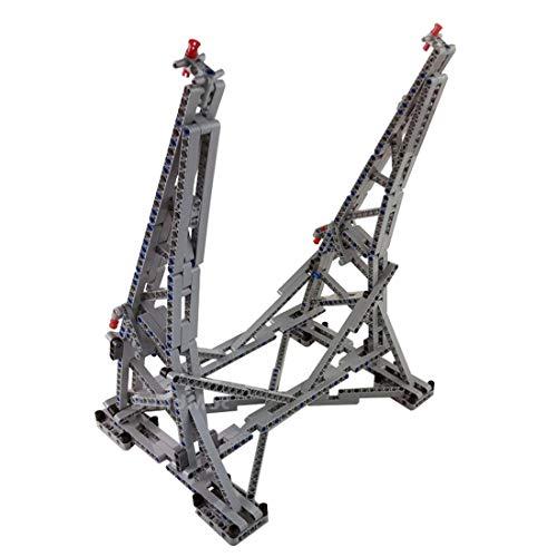 Poxl Ständer Für Star Wars Millennium Falcon Modell, Vertikaler Display Stand Kompatibel Mit Lego 75192 (Lego Modell Nicht Enthalten) Ständer Stand