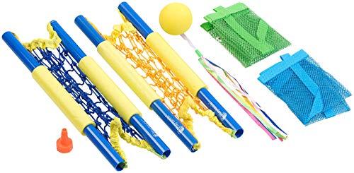 Playtastic Strandspielzeug: 2in1: Strandspiel & Wasserbomben-Beachset (6-teilig) (Wasserbomben-Sets)
