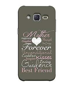 Fuson Designer Back Case Cover for Samsung Galaxy J2 J200G (2015) :: Samsung Galaxy J2 Duos (2015) :: Samsung Galaxy J2 J200F J200Y J200H J200Gu (Quotation one liner motivational inspiration friend)