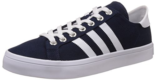 adidas Originals Men's Courtvantage Blue, White and Silver Sneakers - 12 UK  available at amazon for Rs.2759