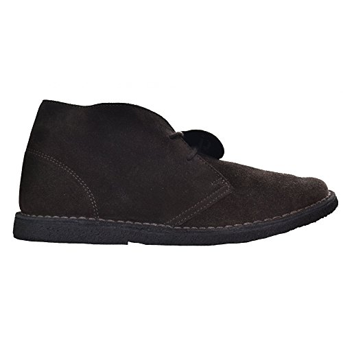 Pretty Green Desert Boots in Chocolate