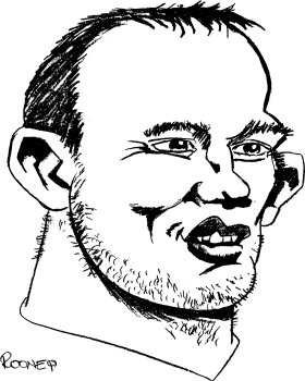 Mister Borsa Di Tela Wayne Rooney Borsa Di Tela, Colore: Nero Natura