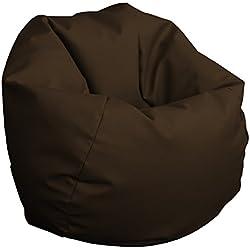 Puff Pelota 60cm diámetro (Chocolate)