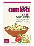 (2er BUNDLE)| amisa Bio-Dinkel Cous Cous 500g