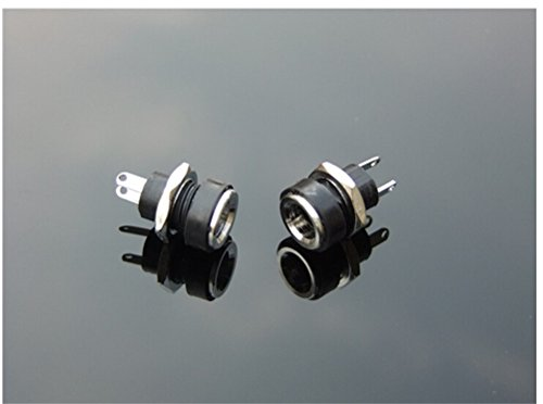 Connectors - 2 Pins 5.5 2.1 Dc 022b Dc022b Power Supply Jack Socket Female Panel Mount Connector 5.5x 2.1mm Plug - Female Power Connector Power Connector Female Male Jack Supply Plug Only Iso