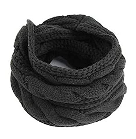 TININNA 1pcs Automne Hiver Femmes Collar Echarpe Laine Ring O Tube Foulard Scarf Head Gear Châle Neck Wraps