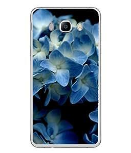 Snapdilla Designer Back Case Cover for Samsung Galaxy J5 (6) 2016 :: Samsung Galaxy J5 2016 J510F :: Samsung Galaxy J5 2016 J510Fn J510G J510Y J510M :: Samsung Galaxy J5 Duos 2016 (Macro Hydrangea Garden Plant Purity Fresh)