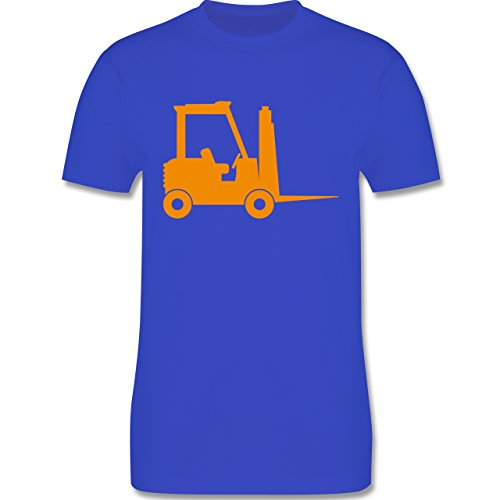 Andere Fahrzeuge - Gabelstapler - Herren Premium T-Shirt Royalblau
