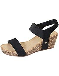 timeless design d685c 5e992 Suchergebnis auf Amazon.de für: schwarze sandalen mit ...