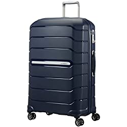SAMSONITE Flux - Spinner 75/28 Expandable Bagage cabine, 75 cm, 121 liters, Bleu (Navy Bleu)