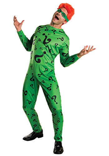 Adult Batman Forever The Riddler Fancy dress costume Small (Batman Forever Kostüm)