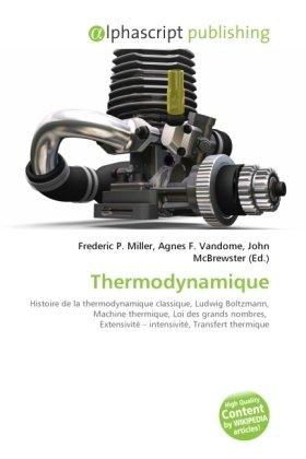 Thermodynamique par Frederic P. Miller