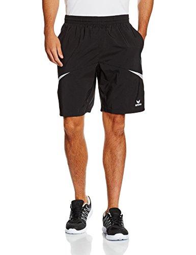 erima Herren Shorts Razor 2.0, Schwarz/Weiß, XXXL, 109608 (Tennis Bekleidung Schwarz Herren)