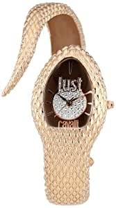 Just Cavalli Damen-Armbanduhr POISON Analog Quarz Edelstahl R7253153501