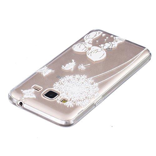 Pour iPhone 7 Plus / Pro Coque,Ecoway Housse étui en TPU Silicone Shell Housse Coque étui Case Cover Cuir Etui Housse de Protection Coque Étui –œil Les jeunes amoureux 04