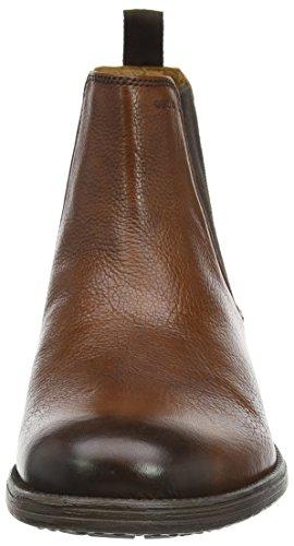Geox U Jaylon, Derby à lacets homme Marron - Marron (Cognac)