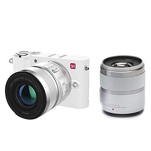 Yi M1 Bianca Fotocamera Mirrorless 4k a 289,99€ con 2 obiettivi! Nera a 244.99€