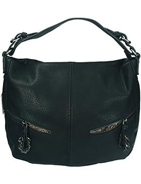 Betz Schultertasche Henkeltasche Umhängetasche Frauen Handtasche Tasche mit Reißverschluss Damen Shopper PARIS 4