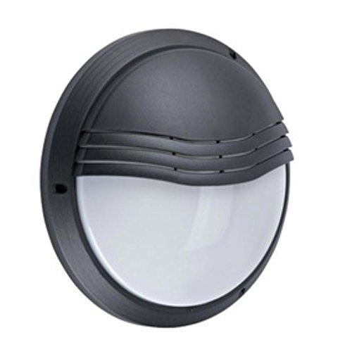 hublot décoratif extérieur rond diamètre 270 mm aric 270tp noir