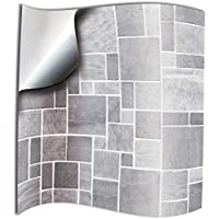 6 Inch Kitchen//Bathroom Tiles Bolsover Designs 50 x Black Gloss Tile Stickers For 15cm x 15cm