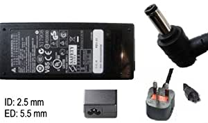 Nouvelle original adaptateur chargeur carnet laptop batterie pour aSUS x401U x 501 a, a x 55 x 55 x 75, c a q500A