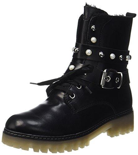 s.Oliver Damen 26241 Biker Boots, Schwarz (Black Comb), 40 ()