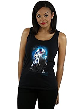 Star Wars Mujer The Last Jedi R2-D2 Brushed Tank Top