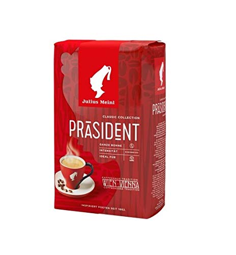 Julius Meinl Kaffee Präsident ganze Bohne - 500g