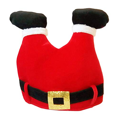 BESTOYARD Gorro Santa Forma Pantalón Gorro Navidad