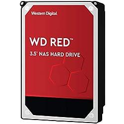 "WD Digital - Disco duro para dispositivos NAS de sobremesa de 2 TB (Intellipower, SATA a 6 Gb/s, 64 MB de caché, 3,5"") rojo"