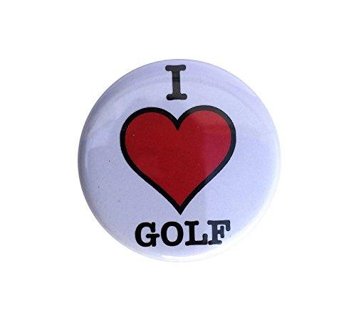 Golf & More Golfloch mit Golffahne in Original-Größe mit GOLFBALL SCHLÜSSELANHÄNGER