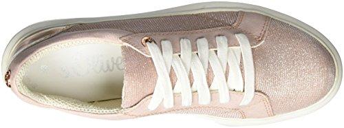 s.Oliver Damen 23617 Sneaker Pink (ROSE COMB 592)