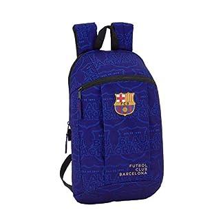 Safta –FC Barcelona Blue Oficial Mini Mochila Uso Diario 220x100x390mm
