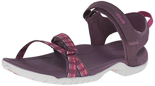 Teva W Verra, Damen Leichtathletikschuhe, Violett (Modern Stripes Purple Mspp), 36 EU