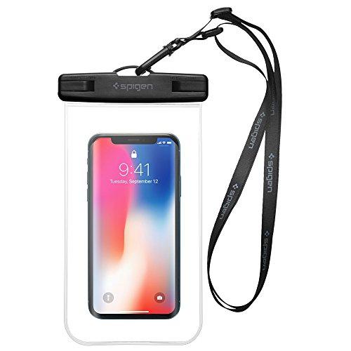 """Spigen Wasserdichte Handyhülle, [A600] *IPX8-zertifiziert* [bis 6,2"""" Zoll] Pemium Universal Wasserdichte Stoßfeste Staubdichte Handytasche für Handys iPhone/Galaxy / Huawei/OnePlus / Moto"""