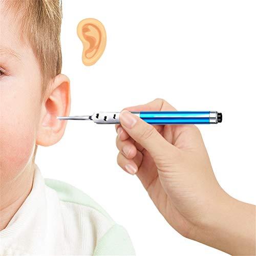 GFYWZ 3 Pacchi Strumento di Rimozione della Cera Dell\'orecchio con Luce A LED, Forcipe per Orecchie per I Bambini, Strumento per La Cura delle Orecchie degli Adulti, Colore Casuale