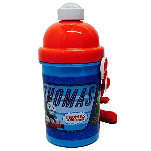 Thomas The Tank Engine F111303 - Thomas und seine Freunde Pop Up Flasche, 400 ml (Cartoon Engine Thomas)